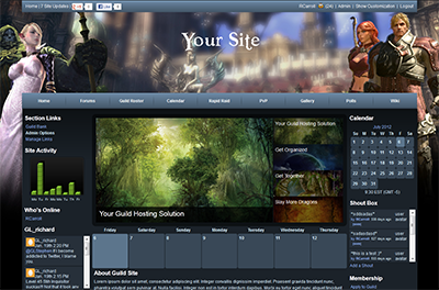 TERA Guild Site Templates