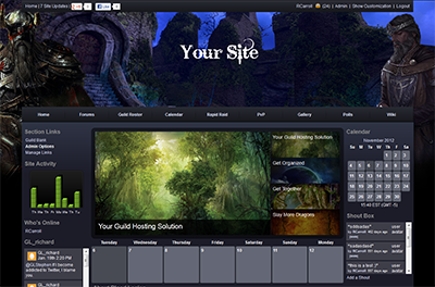 How To Install A TESO Theme On Your Guild Site